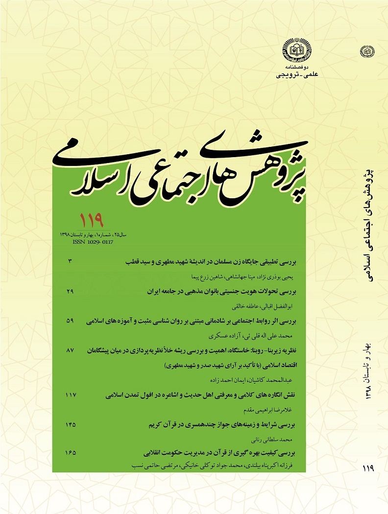 پژوهش های اجتماعی اسلامی